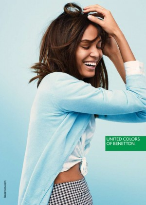 Joan Smalls - United Colors of Benetton Spring 2015
