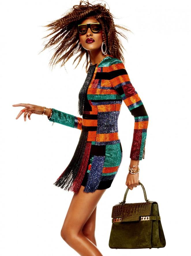 Joan Smalls: Vogue Japan 2015 -11