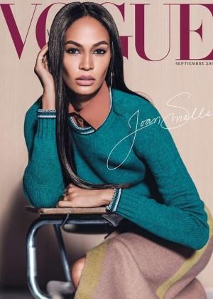 Joan Smalls - Vogue Mexico Cover (September 2015)