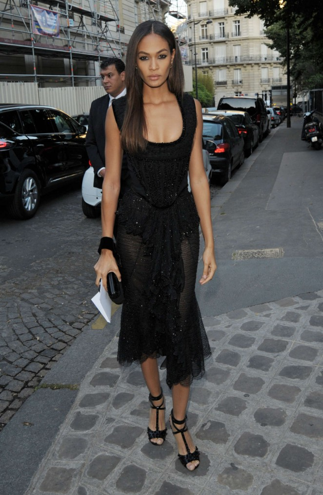 Joan Smalls - Vogue Party 2015 in Paris