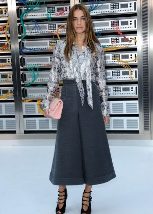 Joana Preiss - Chanel Show Spring Summer 2017 in Paris
