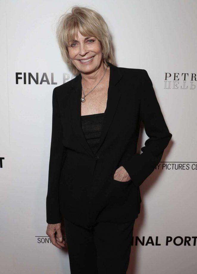 Joanna Cassidy - 'Final Portrait' Premiere in Los Angeles
