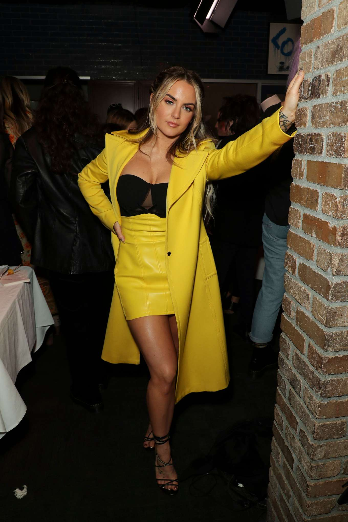 Joanna JoJo Levesque 2020 : Joanna JoJo Levesque – 3rd Annual Women in Harmony Pre-Grammy Luncheon-09