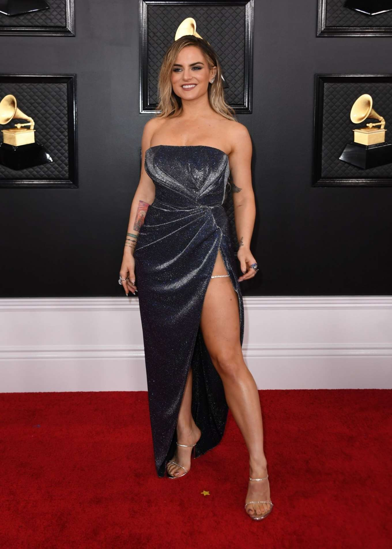 Joanna JoJo Levesque 2020 : Joanna JoJo Levesque – 2020 Grammy Awards-08
