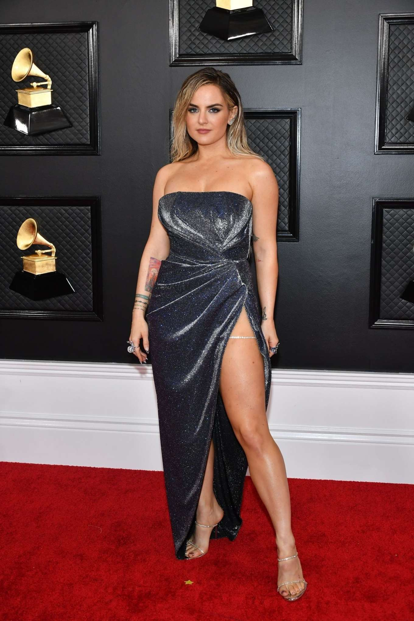 Joanna JoJo Levesque 2020 : Joanna JoJo Levesque – 2020 Grammy Awards-13