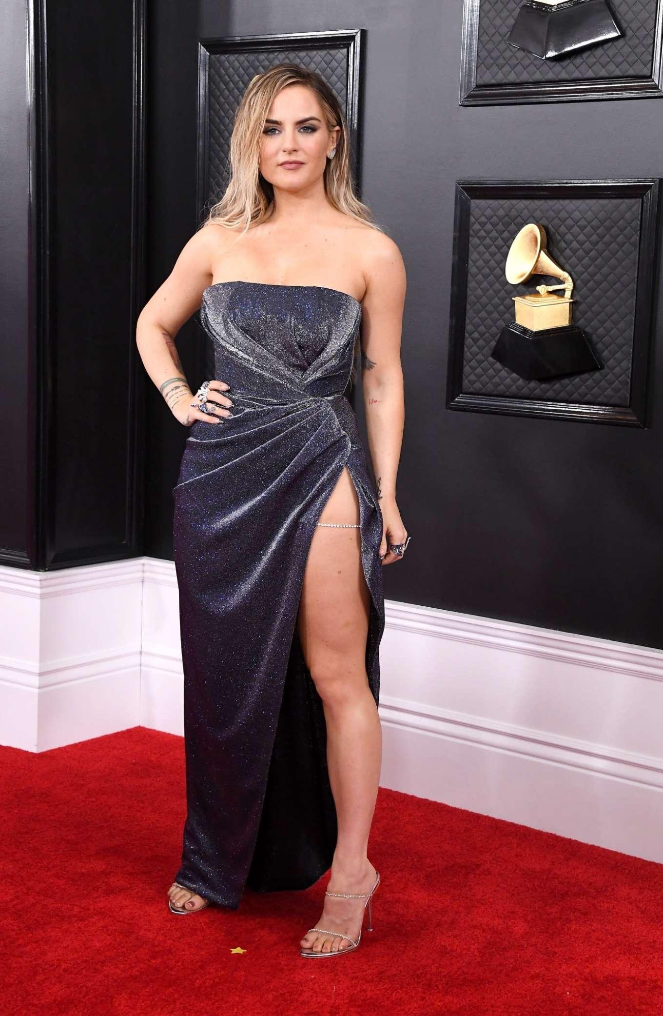 Joanna JoJo Levesque 2020 : Joanna JoJo Levesque – 2020 Grammy Awards-16