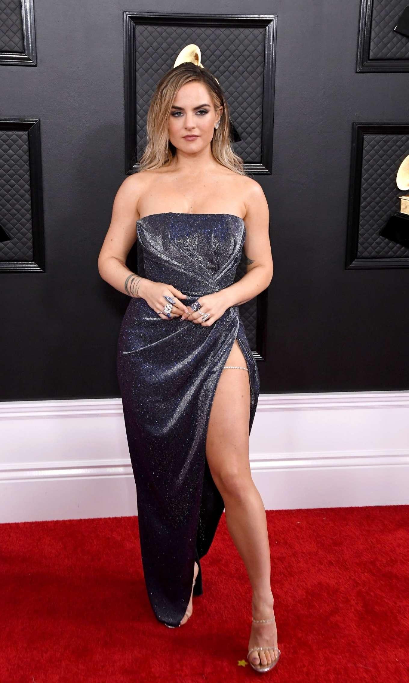 Joanna JoJo Levesque 2020 : Joanna JoJo Levesque – 2020 Grammy Awards-33