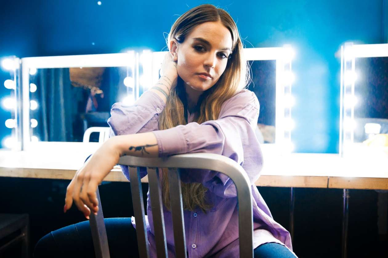 Joanna Jojo Levesque for The Line of Best Fit Shoot 2017