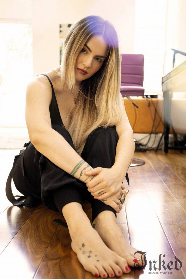 Joanna Jojo Levesque - Inked magazine (August 2020)