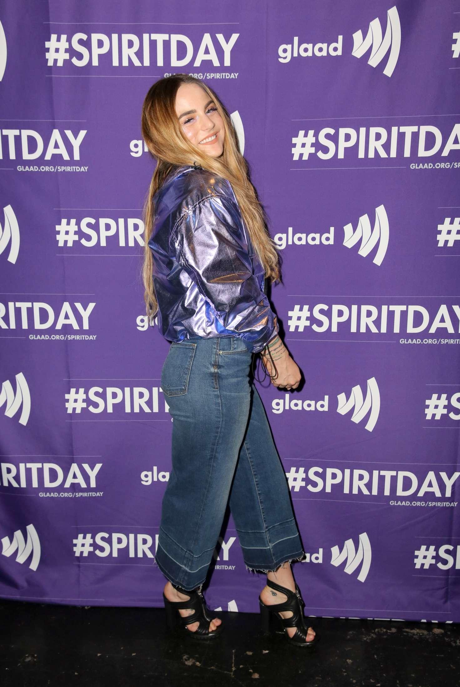 Joanna Jojo Levesque - Justin Tranter and GLAAD Present 'Believer' Spirit Day Concert in LA