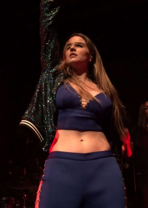 Joanna Jojo Levesque Performs at Mad Love Tour in New Orleans