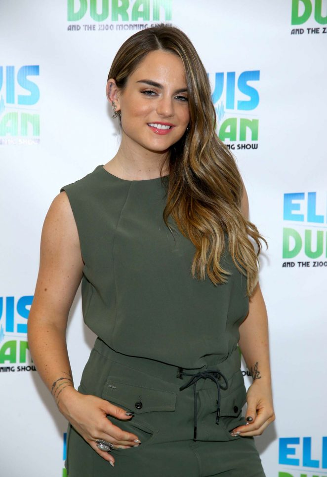 Joanna Jojo Levesque - Visits 'The Elvis Duran Z100 Morning Show' in NYC