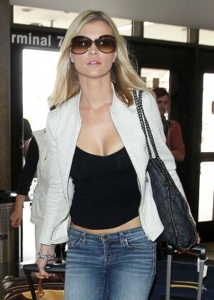 Joanna Krupa at LAX Airport in LA
