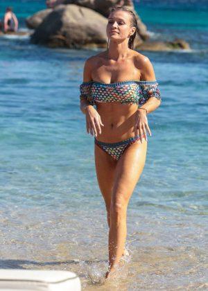 Joanna Krupa - Bikini Candids In Mykonos