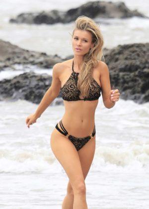 Joanna Krupa Bikini Photoshoot Malachi Banales in Malibu Pic 13 of 35