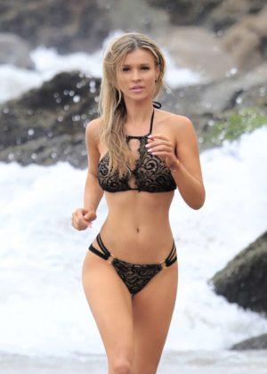 Joanna Krupa Bikini Photoshoot Malachi Banales in Malibu