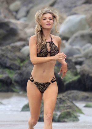 Joanna Krupa Bikini Photoshoot Malachi Banales in Malibu Pic 7 of 35