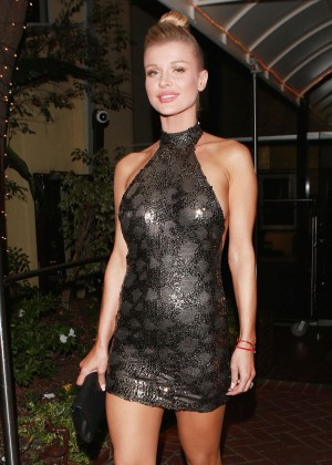 Joanna Krupa - Head to the CAA Party in West Hollywood