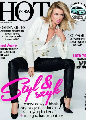 Joanna Krupa - HOT Moda Cover Magazine (December 2015)