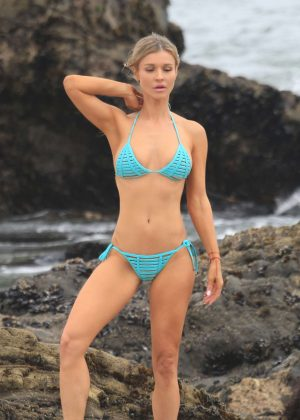 Joanna Krupa in Bikini - Photoshoot in Malibu