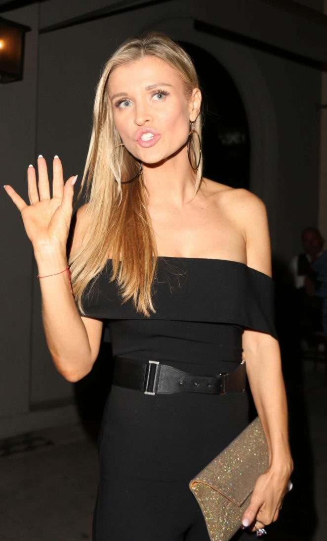 Joanna Krupa - Leaves David Foster's Birthday Dinner Party at Craig's in Los Angeles