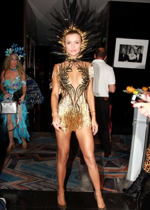 Joanna Krupa - Life & Style Weekly's 'Eye Candy' Halloween Bash in LA