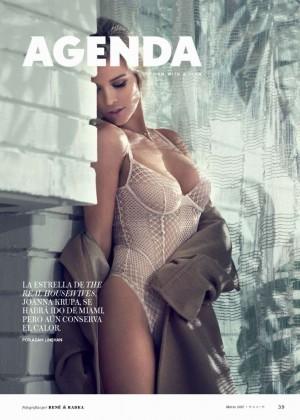 Joanna Krupa - Maxim Mexico Magazine (March 2015)