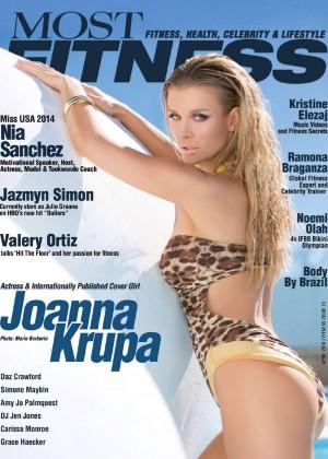 Joanna Krupa - Most Fitness Magazine (April 2016)