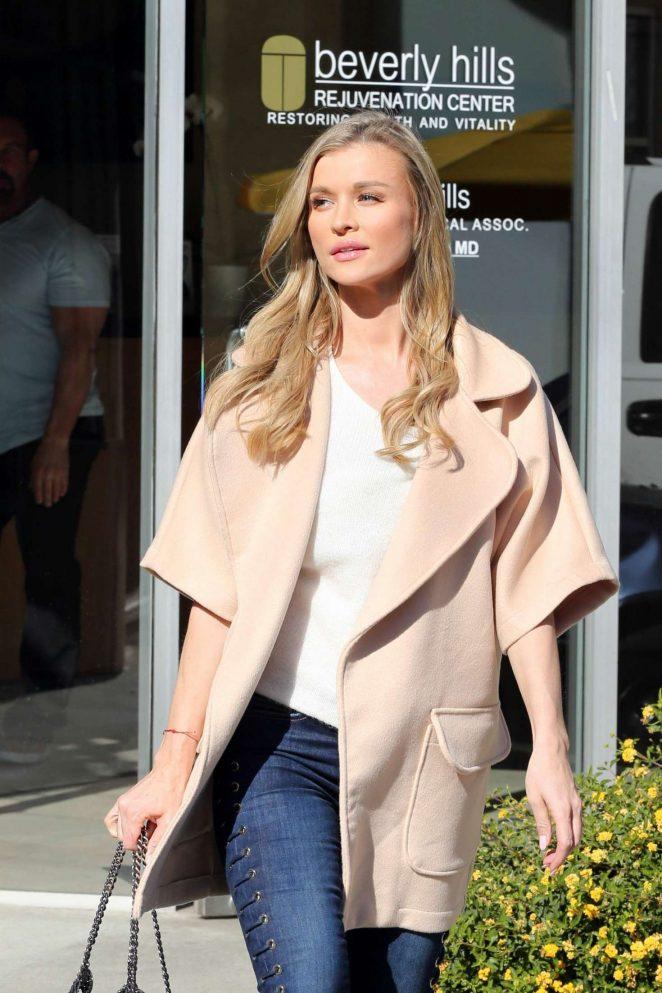 Joanna Krupa out at Beverly Hills Rejuvenation Center in LA