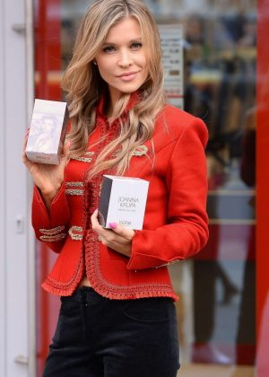 Joanna Krupa out shopping in Warsaw