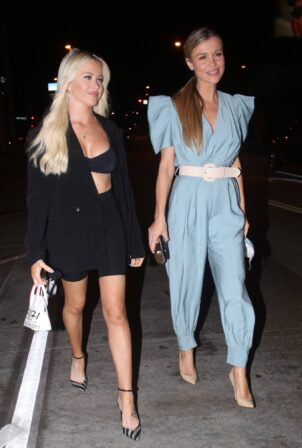 Joanna Krupa - Pictured after dinner with a friend at Catch LA in West Holywood