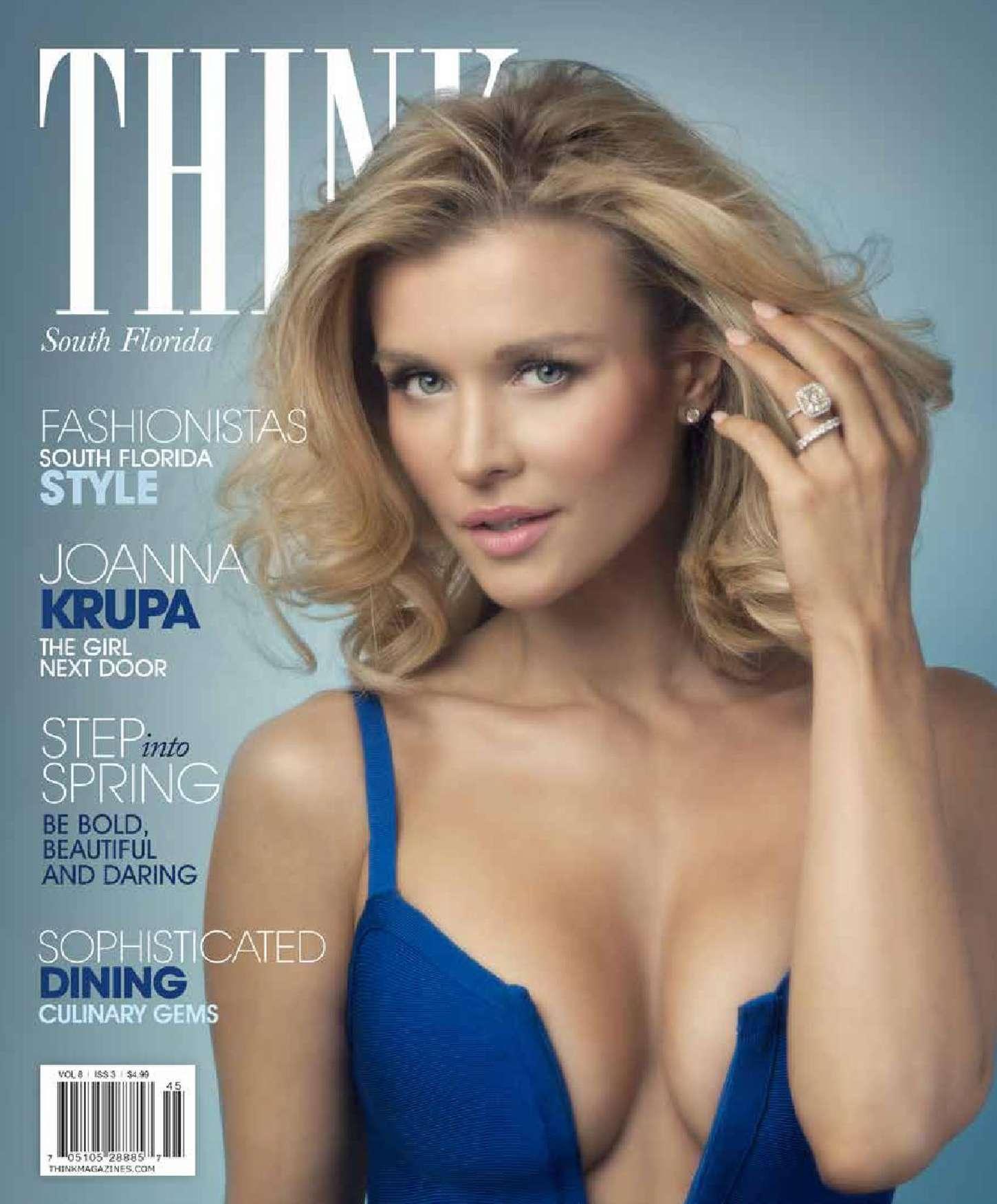 Joanna Krupa 2015 : Joanna Krupa: THINK Magazine 2015 -03