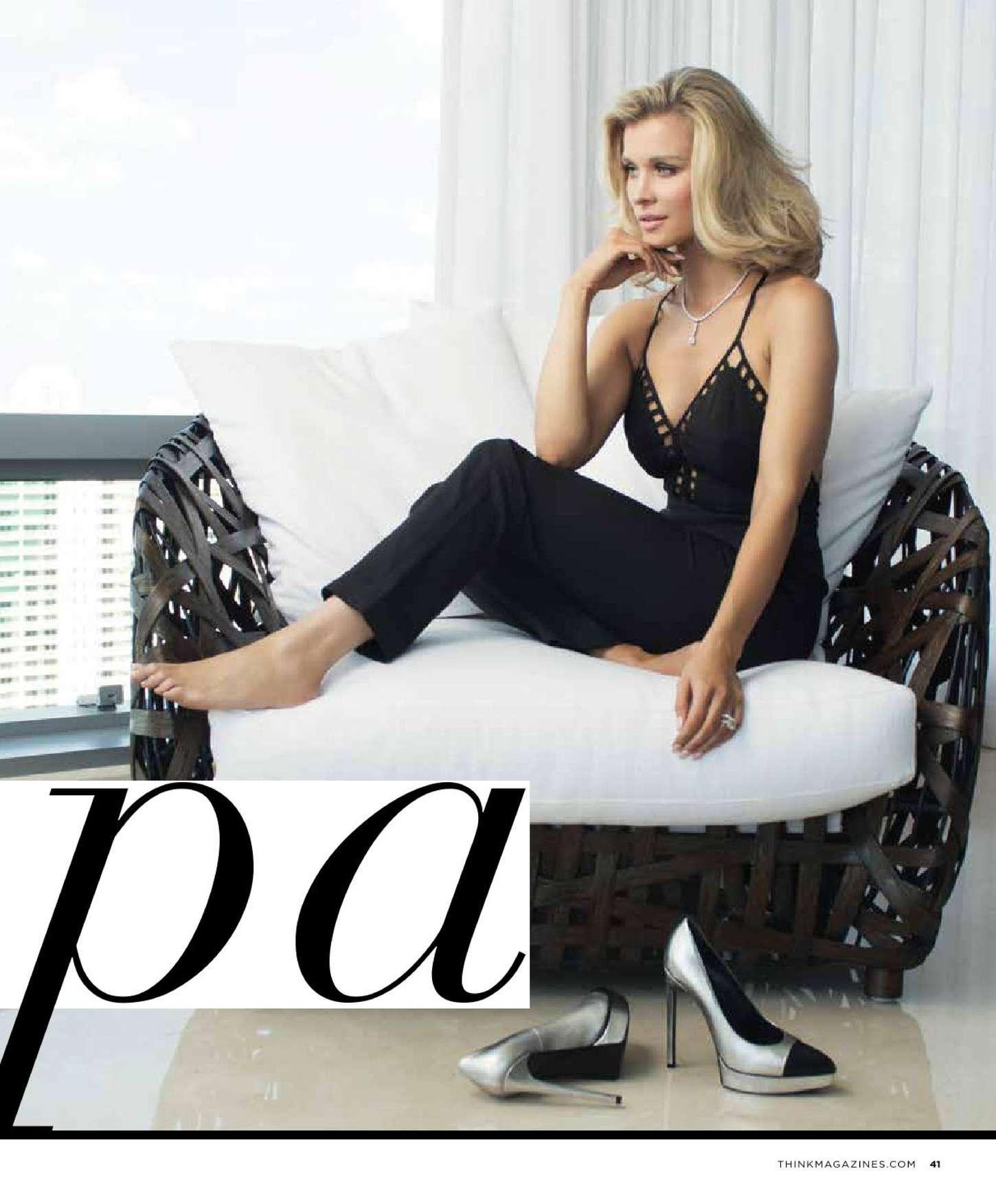 Joanna Krupa 2015 : Joanna Krupa: THINK Magazine 2015 -04