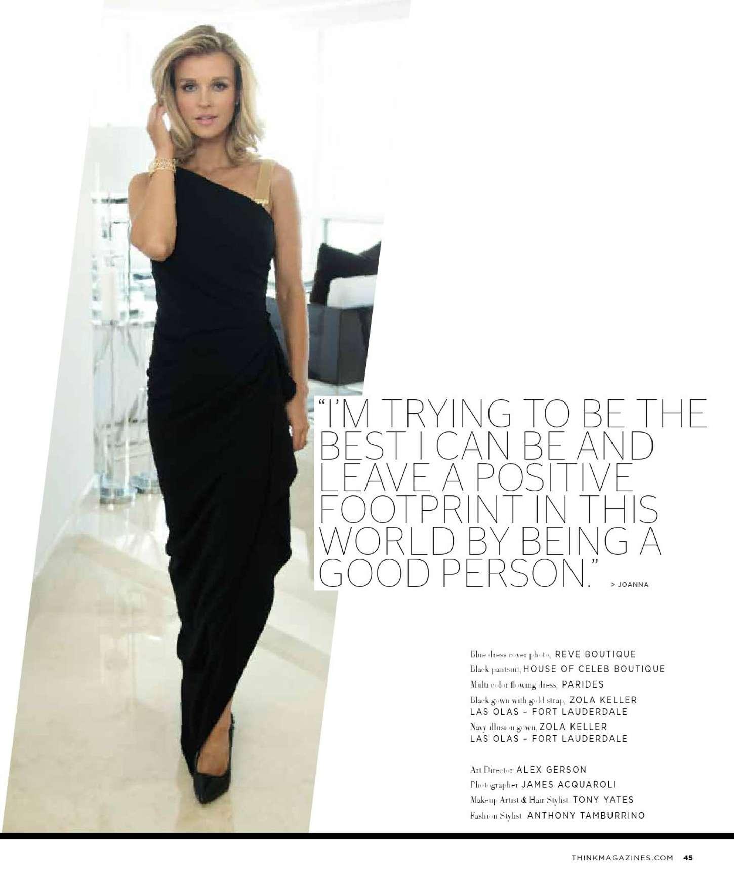 Joanna Krupa 2015 : Joanna Krupa: THINK Magazine 2015 -07