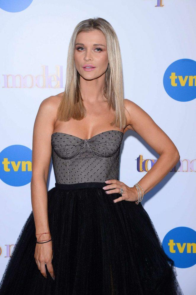 Joanna Krupa - Top Model TV Show in Warsaw