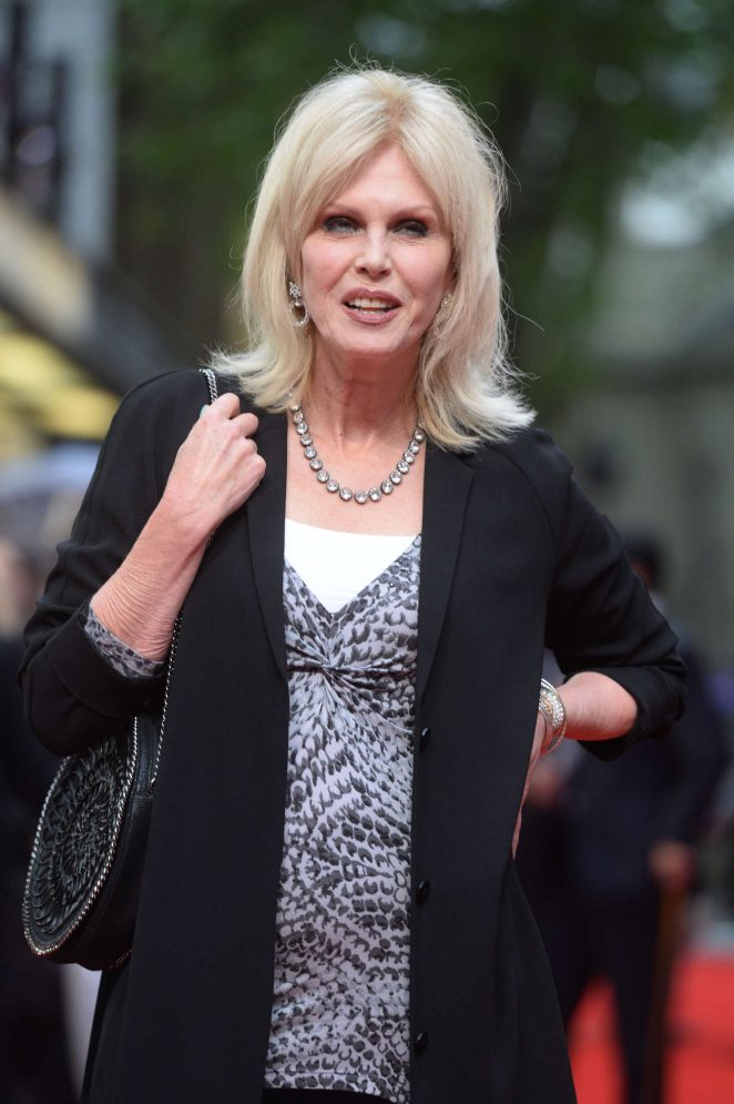 Joanna Lumley - 'Me Before You' Premiere in London