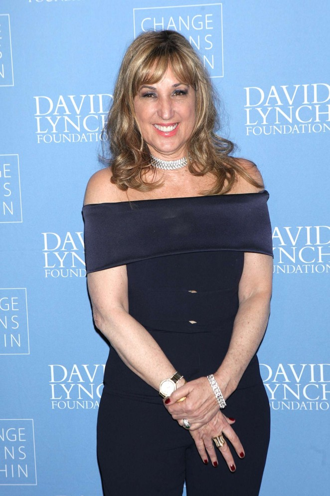 Joanna Plafsky - David Lynch Foundation Benefit for Veterans with PTSD in New York
