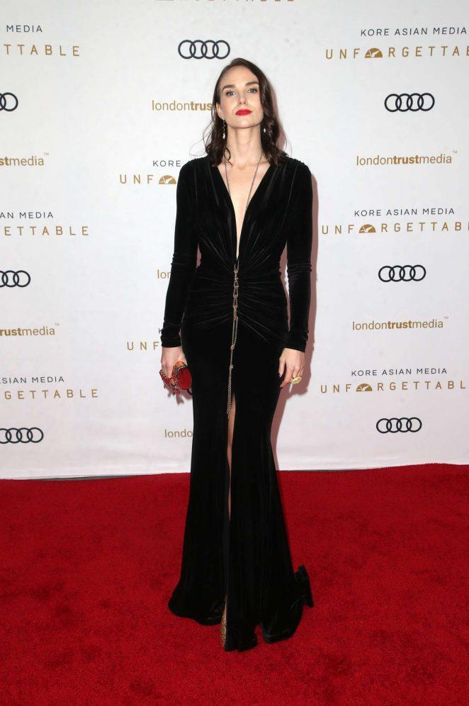 Joanna Vanderham – 2018 Unforgettable Gala in Los Angeles