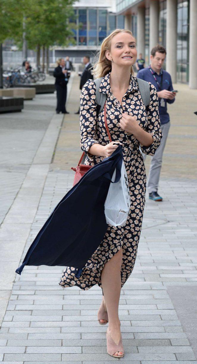 Joanna Vanderham Leaving the BBC Breakfast Studio -06