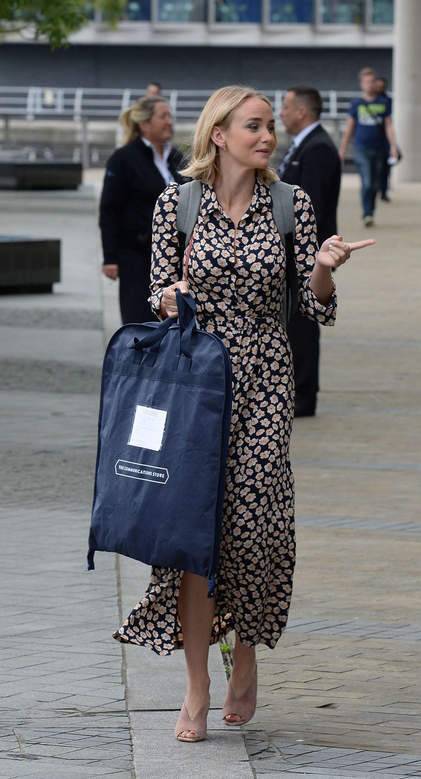 Joanna Vanderham Leaving the BBC Breakfast Studio -15