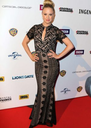 Joanne Clifton - National Film and Television School's Gala in London
