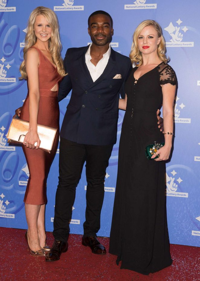 Joanne Clifton - National Lottery Awards 2016 in London