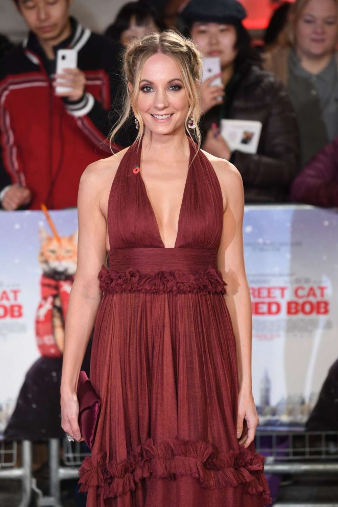 Joanne Froggatt - 'A Street Cat Named Bob' Premiere in London