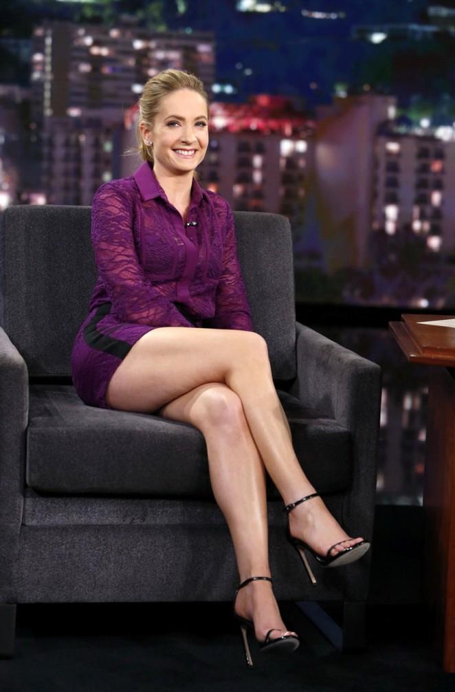 Joanne Froggatt at Jimmy Kimmel Live! Show in LA