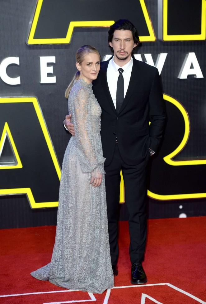 Joanne Tucker - 'Star Wars: The Force Awakens' Premiere in London