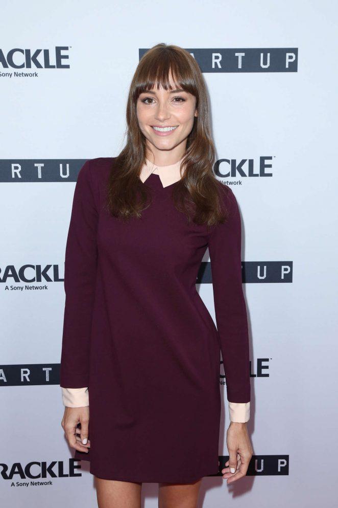 Jocelin Donahue - Crackle's 'StartUp' TV Series Screening in Los Angeles