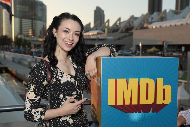Jodelle Ferland - IMDboat At San Diego Comic-Con 2017