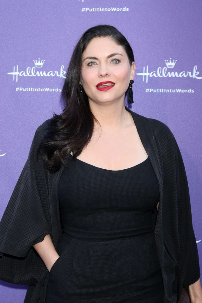 Jodi Lyn O'Keefe - Launch Party for Hallmark's Put It Into Words Campaign in LA