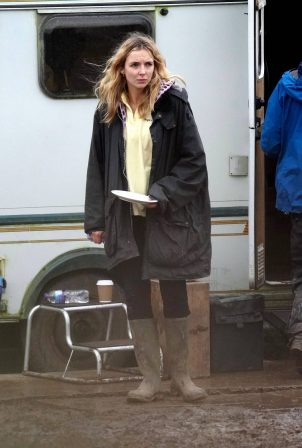 Jodie Comer - Films Channel 4 drama 'Help' about a care home during the Covid 19 pandemic