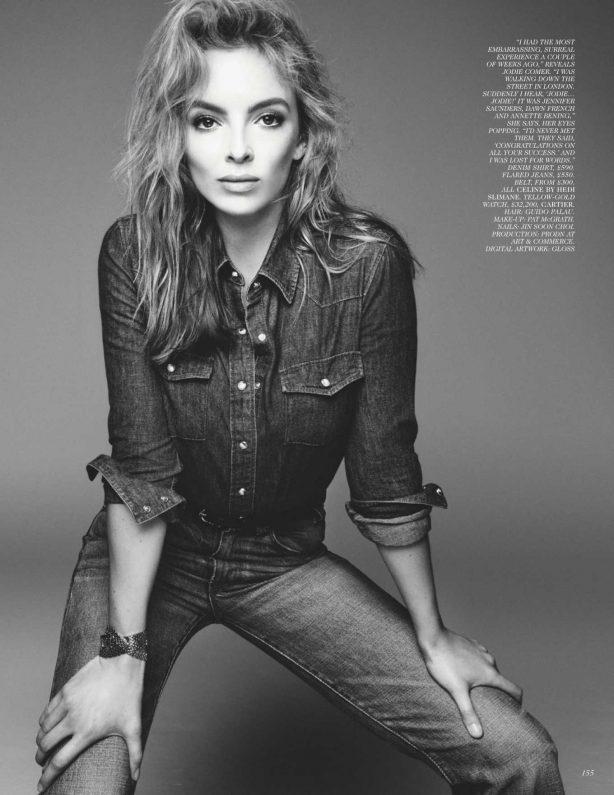 Jodie Comer - UK Vogue Magazine (April 2020) adds